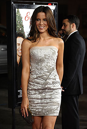 Kate Beckinsale White Dress