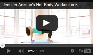 5 minute Yogalosphy workout with Mandy Ingber