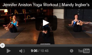 Mandy Ingber's Yogalosophy – 10 minute workout