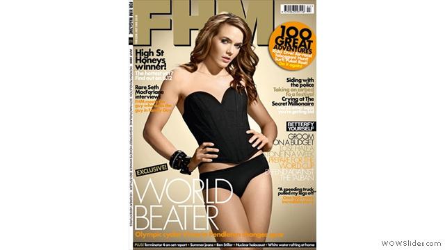 FHM Victoria Pendleton
